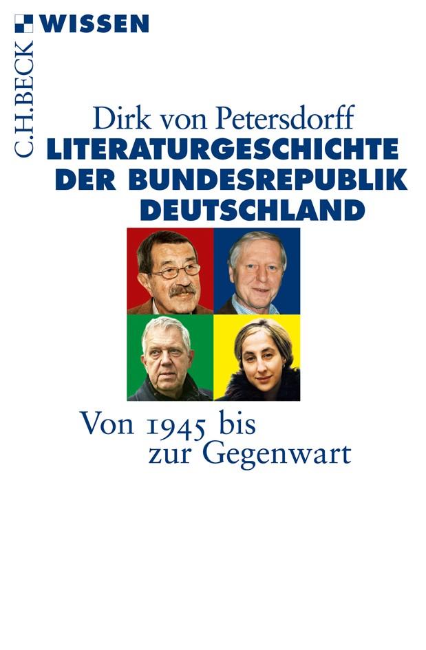 Cover des Buches 'Literaturgeschichte der Bundesrepublik Deutschland: Literaturgeschichte der BRD'