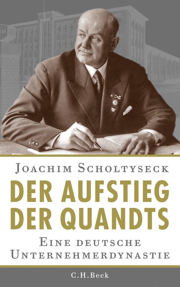 Cover des Buches 'Der Aufstieg der Quandts'