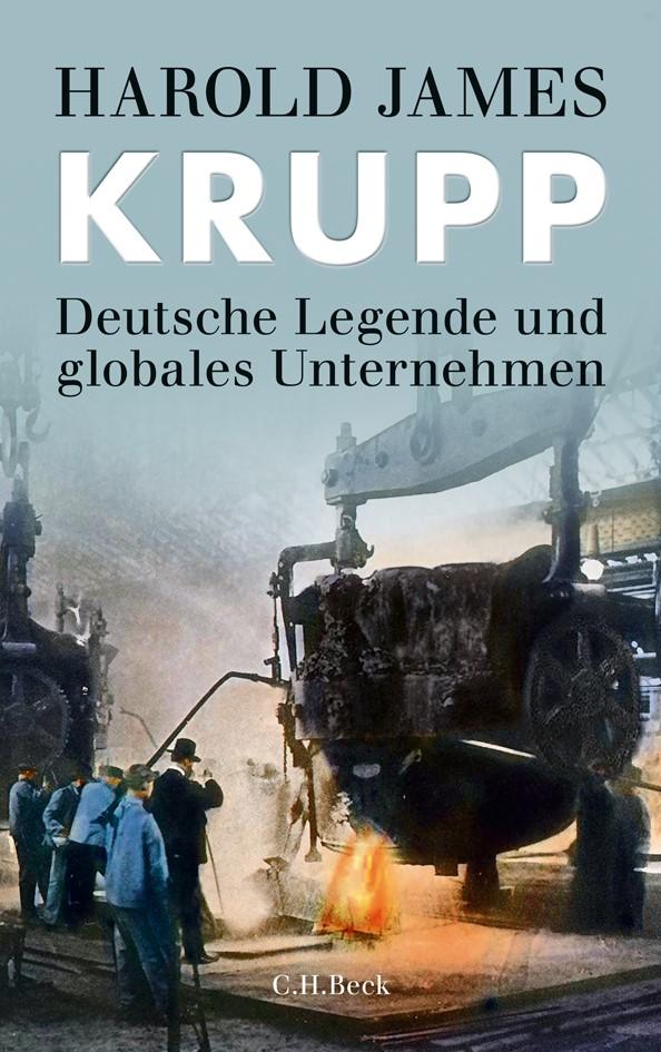 Cover des Buches 'Krupp'
