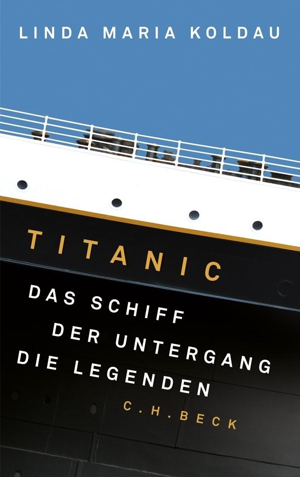 Cover des Buches 'Titanic'