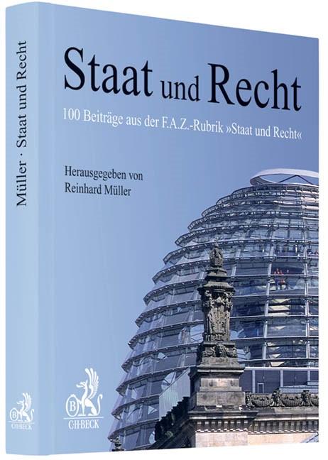 Cover des Buches 'Staat und Recht'
