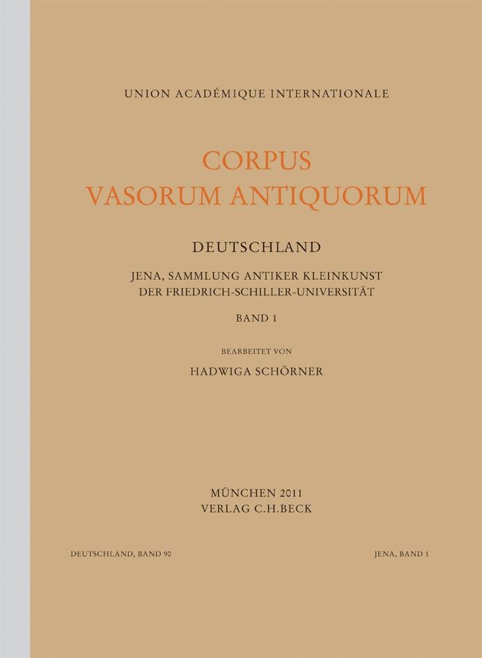 Cover des Buches 'Corpus Vasorum Antiquorum Deutschland Bd. 90:  Jena Band 1'