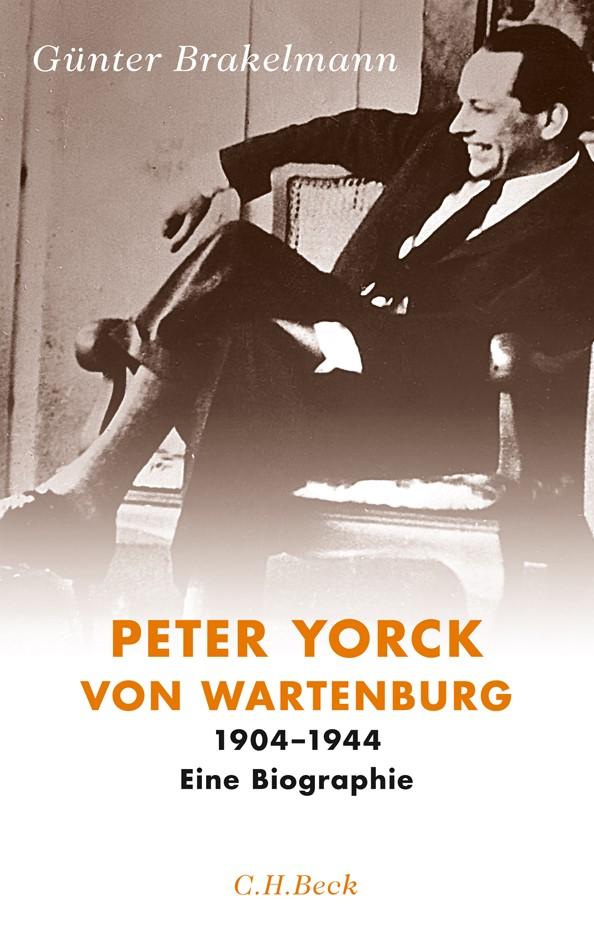 Cover des Buches 'Peter Yorck von Wartenburg'