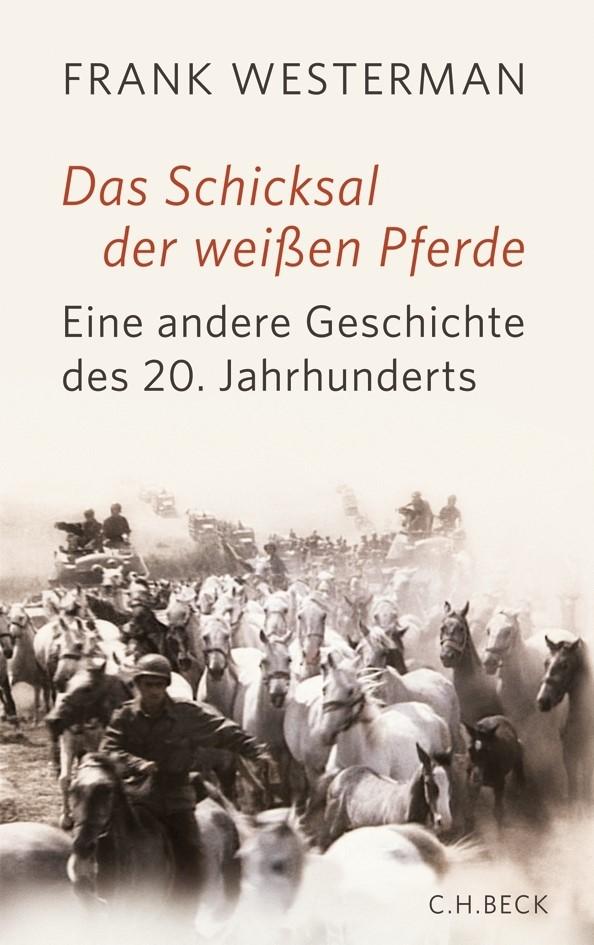 Cover des Buches 'Das Schicksal der weißen Pferde'