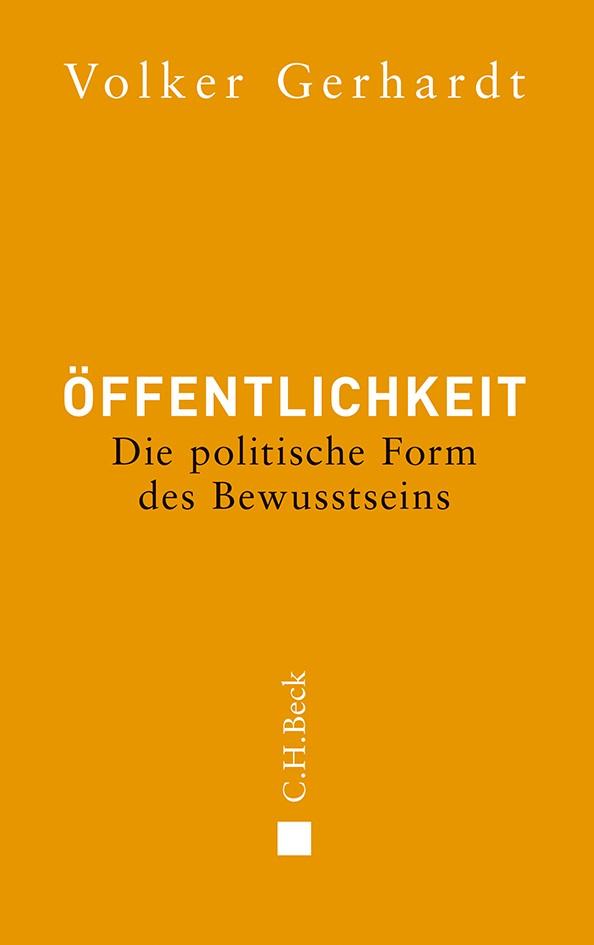 Cover des Buches 'Öffentlichkeit'