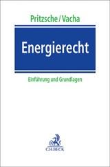 Energierecht | Pritzsche / Vacha | Buch (Cover)