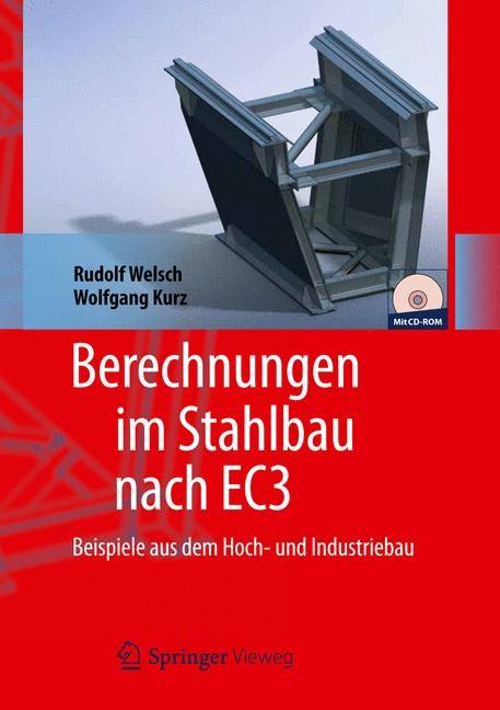 Berechnungen im Stahlbau nach EC3 | Welsch, 2020 | Buch (Cover)