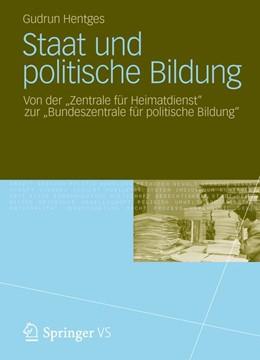 Abbildung von Hentges | Staat und politische Bildung | 2013 | 2012 | Von der