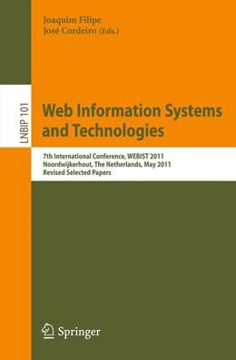 Abbildung von Filipe / Cordeiro | Web Information Systems and Technologies | 2012 | 7th International Conference, ... | 101