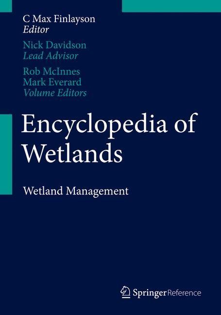 Abbildung von McInnes / Everard | Encyclopedia of Wetlands | 1st ed. 2016 | 2016