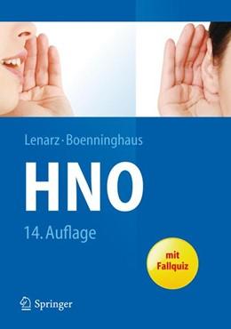 Abbildung von Lenarz / Boenninghaus | Hals-Nasen-Ohren-Heilkunde | 14. Auflage | 2012
