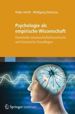 Abbildung von Hecht / Desnizza   Psychologie als empirische Wissenschaft   2012