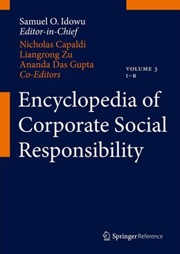 Abbildung von Idowu / Capaldi / Zu / Das Gupta | Encyclopedia of Corporate Social Responsibility | 2013