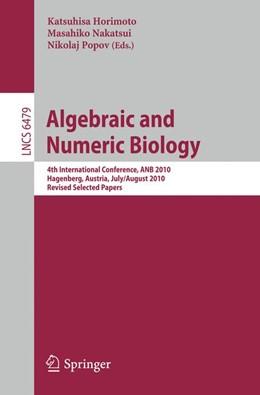Abbildung von Horimoto / Nakatsui / Popov   Algebraic and Numeric Biology   2012   4th International Conference, ...