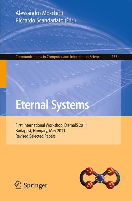 Eternal Systems | Moschitti / Scandariato, 2012 | Buch (Cover)