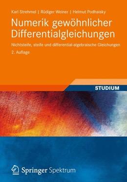 Abbildung von Strehmel / Weiner / Podhaisky | Numerik gewöhnlicher Differentialgleichungen | 2012