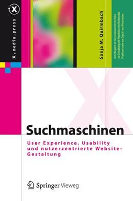 Abbildung von Quirmbach | Suchmaschinen | 2012 | User Experience, Usability und...