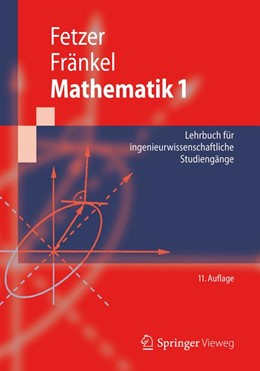 Abbildung von Fetzer / Fränkel   Mathematik 1   2012   Lehrbuch für ingenieurwissensc...