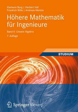 Abbildung von Burg / Haf / Wille   Höhere Mathematik für Ingenieure Band II   2012   Lineare Algebra