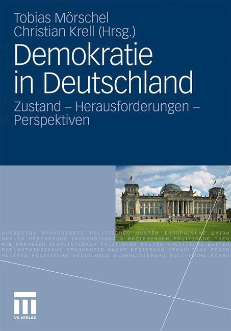 Abbildung von Mörschel / Krell | Demokratie in Deutschland | 2012