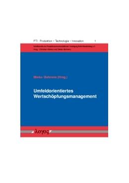 Abbildung von Mieke / Behrens   Umfeldorientiertes Wertschöpfungsmanagement   1. Auflage 2012   2012   Ausgewählte Beiträge der PVBB-...   1