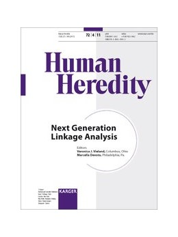 Abbildung von Vieland / Devoto | Next Generation Linkage Analysis | 2012 | Special Topic Issue: 'Human He...