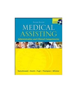 Abbildung von Ramutkowski / Booth / Pugh | Medical Assisting - Administrative and Clinical Competencies with Student CD & Bind-in OLC Card | 2004