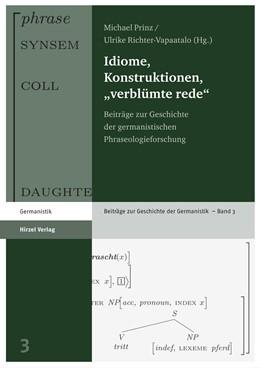 Abbildung von Prinz / Richter-Vapaatalo | Idiome, Konstruktionen,