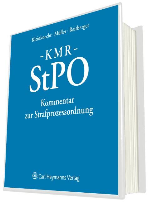KMR - Kommentar zur Strafprozessordnung | von Heintschel-Heinegg / Bockemühl (Hrsg.) | Loseblattwerk mit Aktualisierungen, 2012 (Cover)