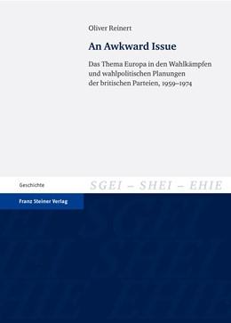 Abbildung von Reinert   An Awkward Issue   2012   Das Thema Europa in den Wahlkä...   16
