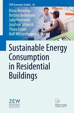 Abbildung von Rennings / Brohmann / Nentwich / Schleich / Traber / Wüstenhagen | Sustainable Energy Consumption in Residential Buildings | 2012 | 44