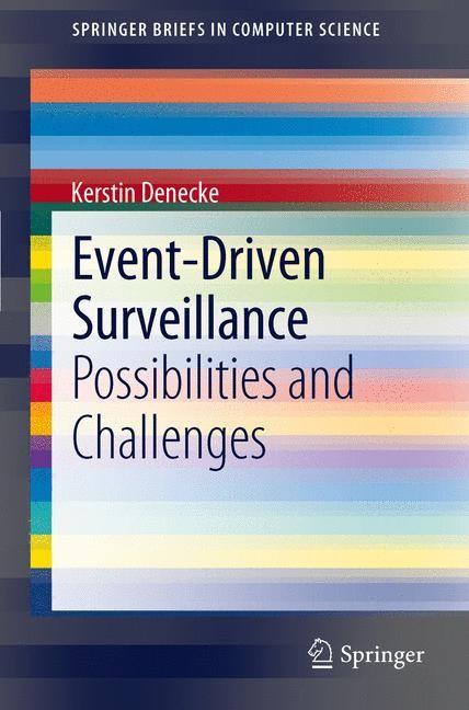 Abbildung von Denecke | Event-Driven Surveillance | 2012