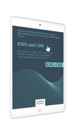 Abbildung von Luz / Neus | KWG und CRR | 1. Auflage | | beck-shop.de