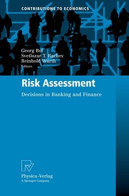 Abbildung von Bol / Rachev / Würth   Risk Assessment   2010   Decisions in Banking and Finan...