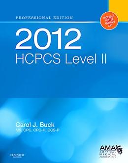 Abbildung von Buck   2012 HCPCS Level II Professional Edition   2012