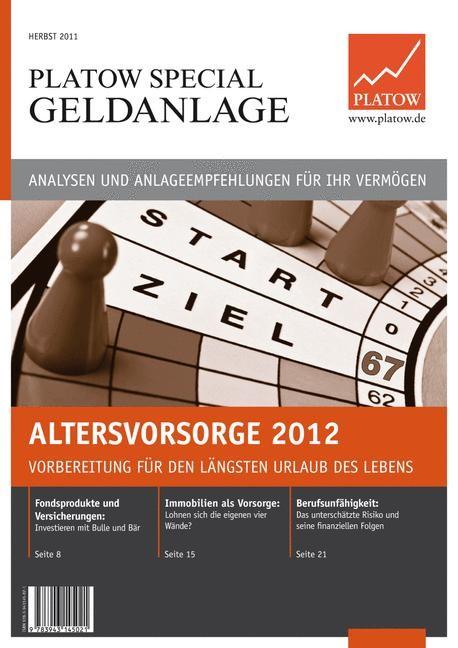 Altersvorsorge 2012 | Schirmacher | 1. Auflage 2011, 2011 | Buch (Cover)