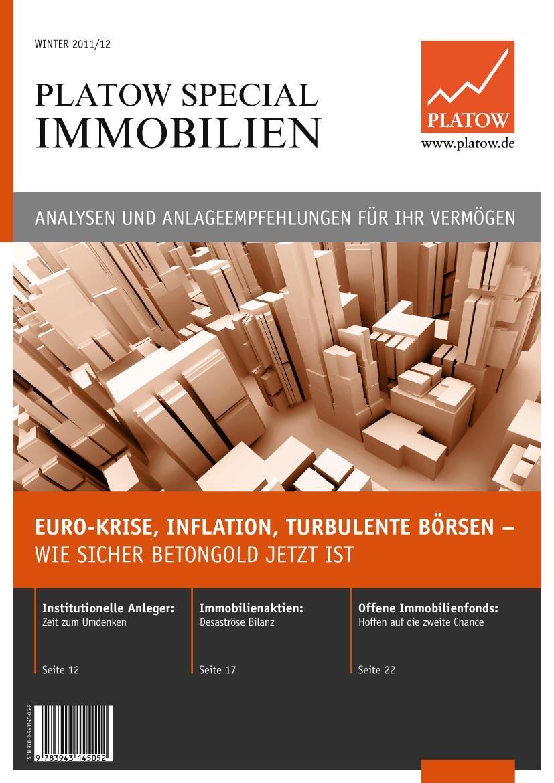 PLATOW Special Immobilien | Schirmacher | 1. Auflage 2012, 2011 | Buch (Cover)