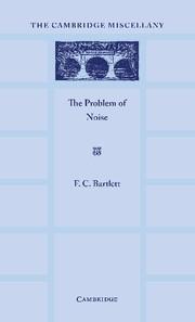 Abbildung von Bartlett   The Problem of Noise   2012