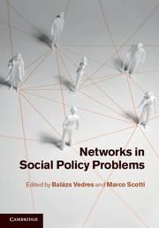 Abbildung von Vedres / Scotti | Networks in Social Policy Problems | 2012