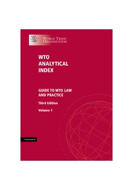 Abbildung von WTO Analytical Index 2 Volume Set | 3., überarb. Aufl. | 2012 | Guide to WTO Law and Practice