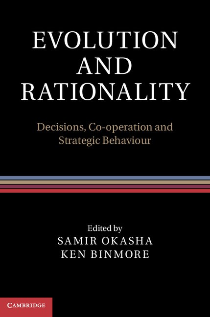 Abbildung von Binmore / Okasha | Evolution and Rationality | 2012