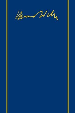 Abbildung von Lepsius / Weber / Mommsen | Max Weber Gesamtausgabe / Max Weber-Gesamtausgabe | 1998 | Band II/7,1: Briefe 1911-1912