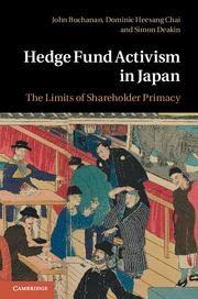 Abbildung von Buchanan / Chai / Deakin | Hedge Fund Activism in Japan | 2012
