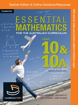 Abbildung von Goodman / McMenamin / Miller | Essential Mathematics for the Australian Curriculum Year 10 Teacher Edition | 2012