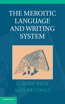 Abbildung von Rilly / de Voogt | The Meroitic Language and Writing System | 2012
