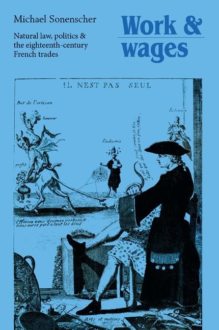 Abbildung von Sonenscher   Work and Wages   2012