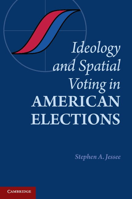 Abbildung von Jessee | Ideology and Spatial Voting in American Elections | 2012