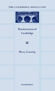 Abbildung von Gunnning | Reminiscences of Cambridge | 2012
