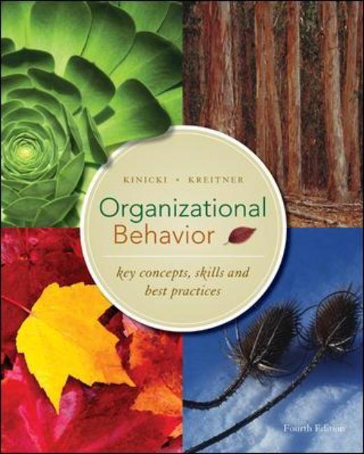 Abbildung von Kinicki / Kreitner   Organizational Behavior: Key Concepts, Skills & Best Practices   2008