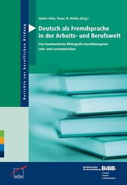 Abbildung von Kühn / Mielke | Deutsch als Fremdsprache in der Arbeits- und Berufswelt | 2012